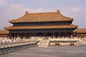 La Cité Interdite à Pékin. 20 août 1994.