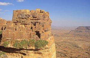 Le village fortifié de Zakatine