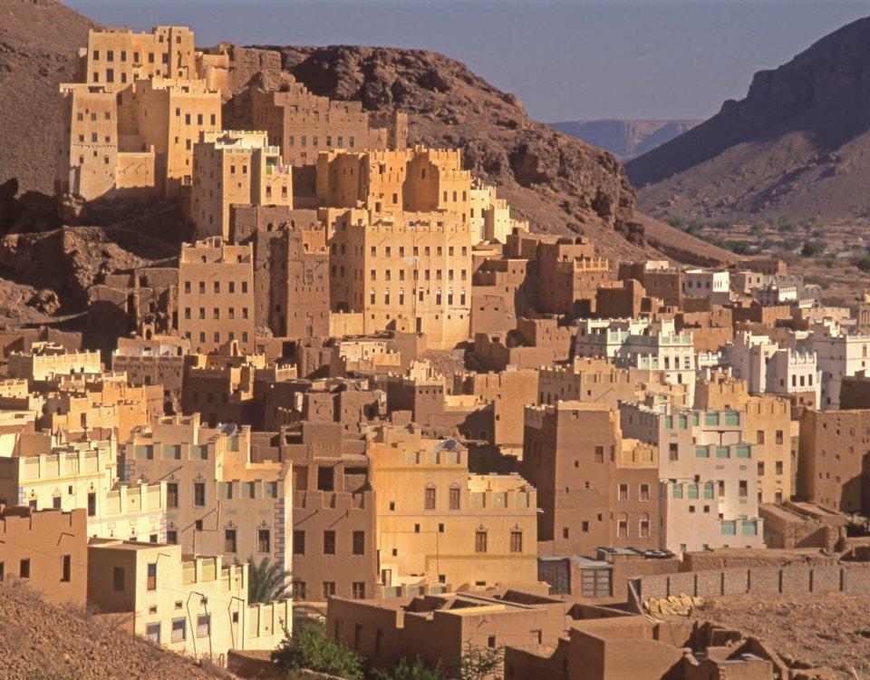 La ville de Sif dans le Wahdi Dawan