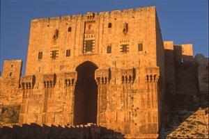 La citadelle d'Alep