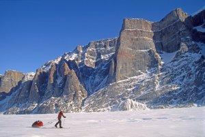 Terre de Baffin. Gibbs Fjord, avril 2005.