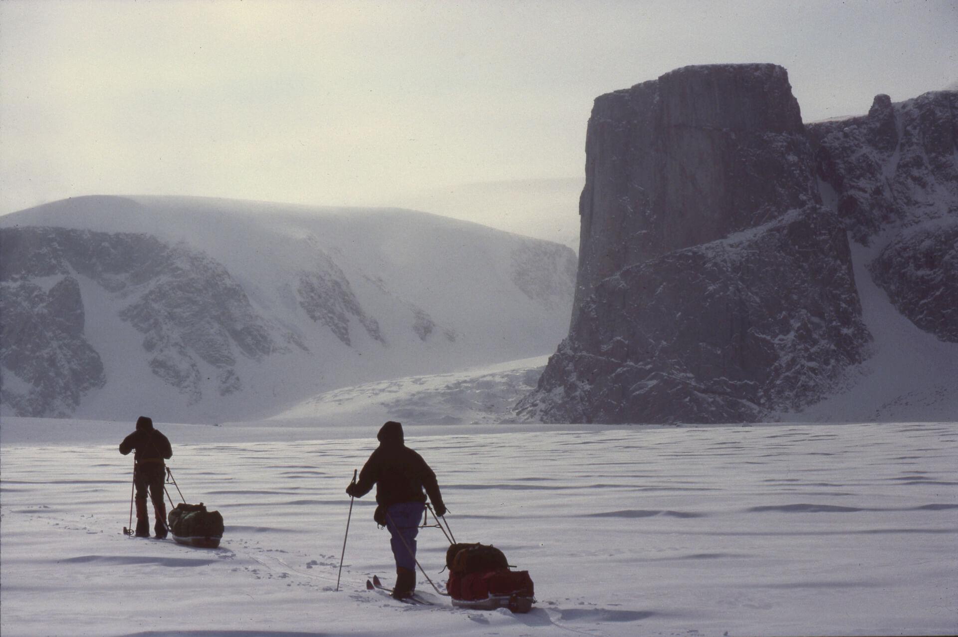 Sur le glacier du Couronnement près de la Tour du Couronnement