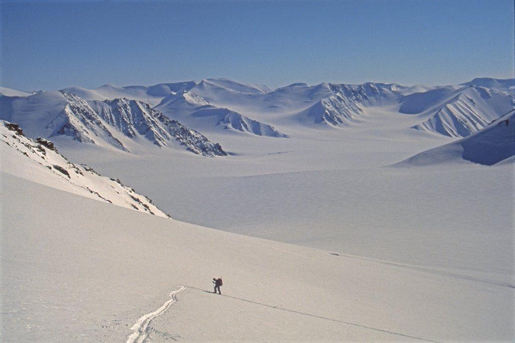 Montée au sommet au-dessus du camp 12. 5 mai 1999.