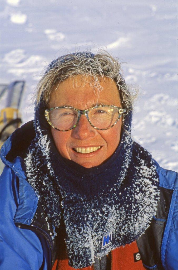 Béatrice au camp 10. 1er mai 1999.