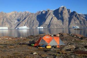 Le dernier camp sur l'île Bjørneøer - 31 août 2010.