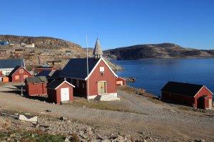 Eglise et village d'Ittoq - 3 septembre 2010.