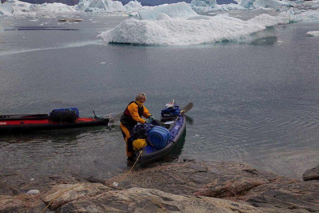Traversée Upernavik-Kullorsuaq - Départ du camp 17 le 18 août 2012.