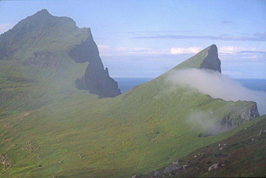 Les falaises du Hornstrandir