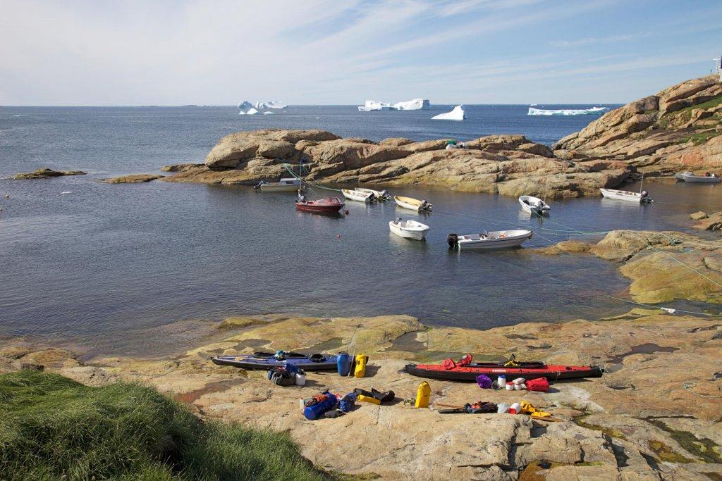 Préparatifs à Upernavik le 26 juillet 2012.