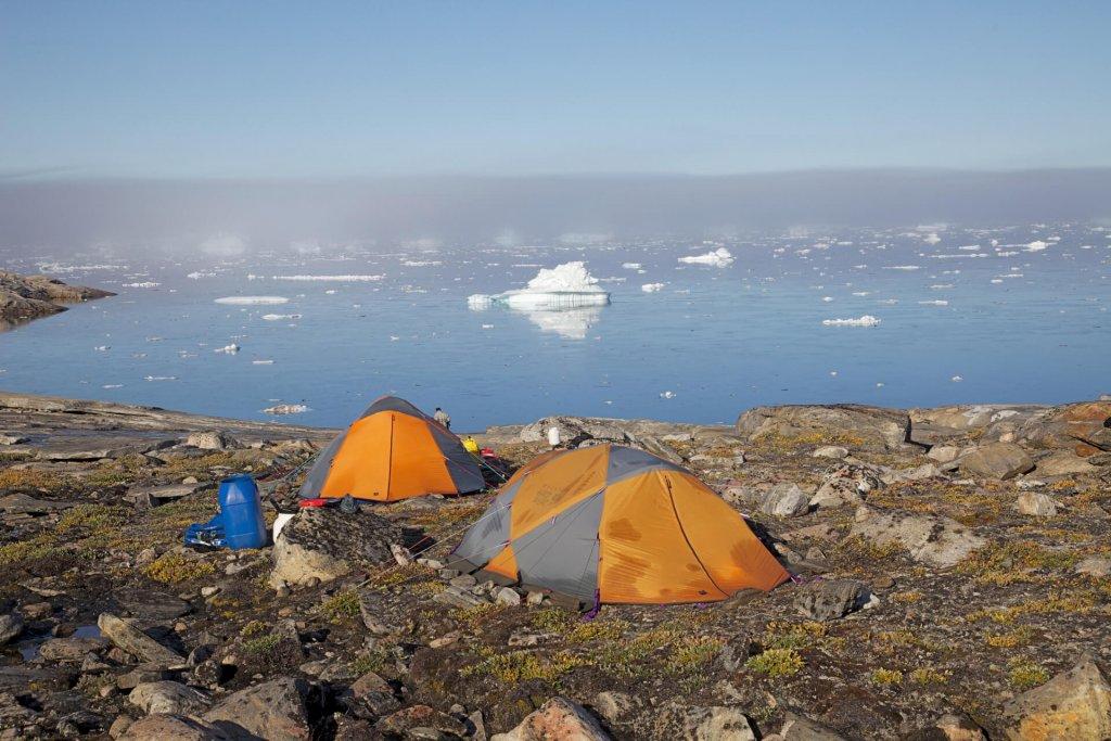 """Le camp 20, dit """" Camp de la vague """" le 22 août 2012."""