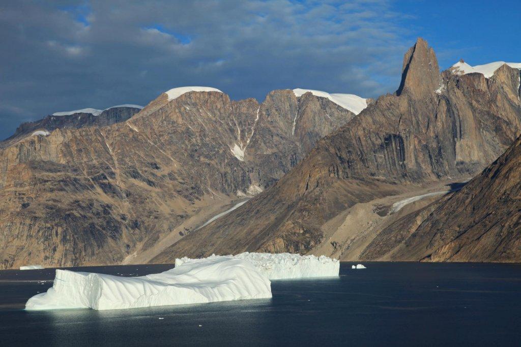 La Forteresse et l'Ofjord vus depuis le camp 19 le 30 août 2010.