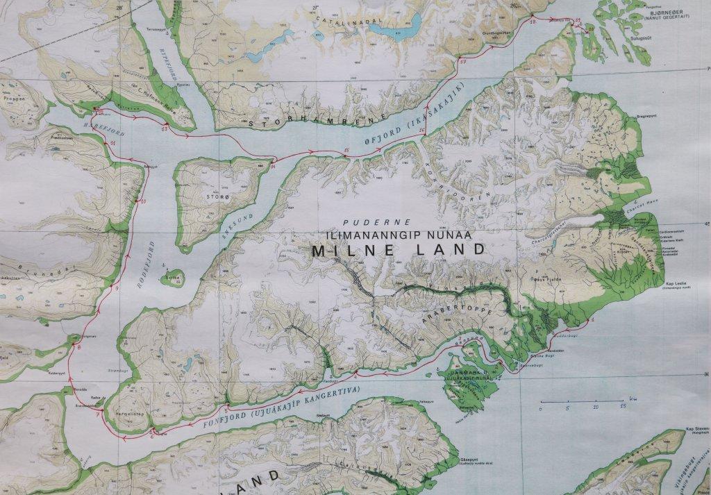 Ile de Milne - Carte 2