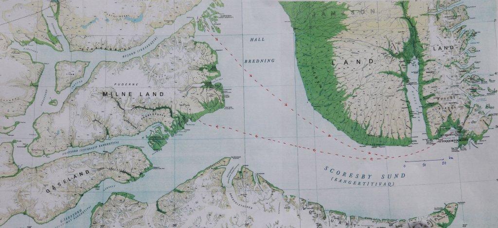 Ile de Milne - Carte 1