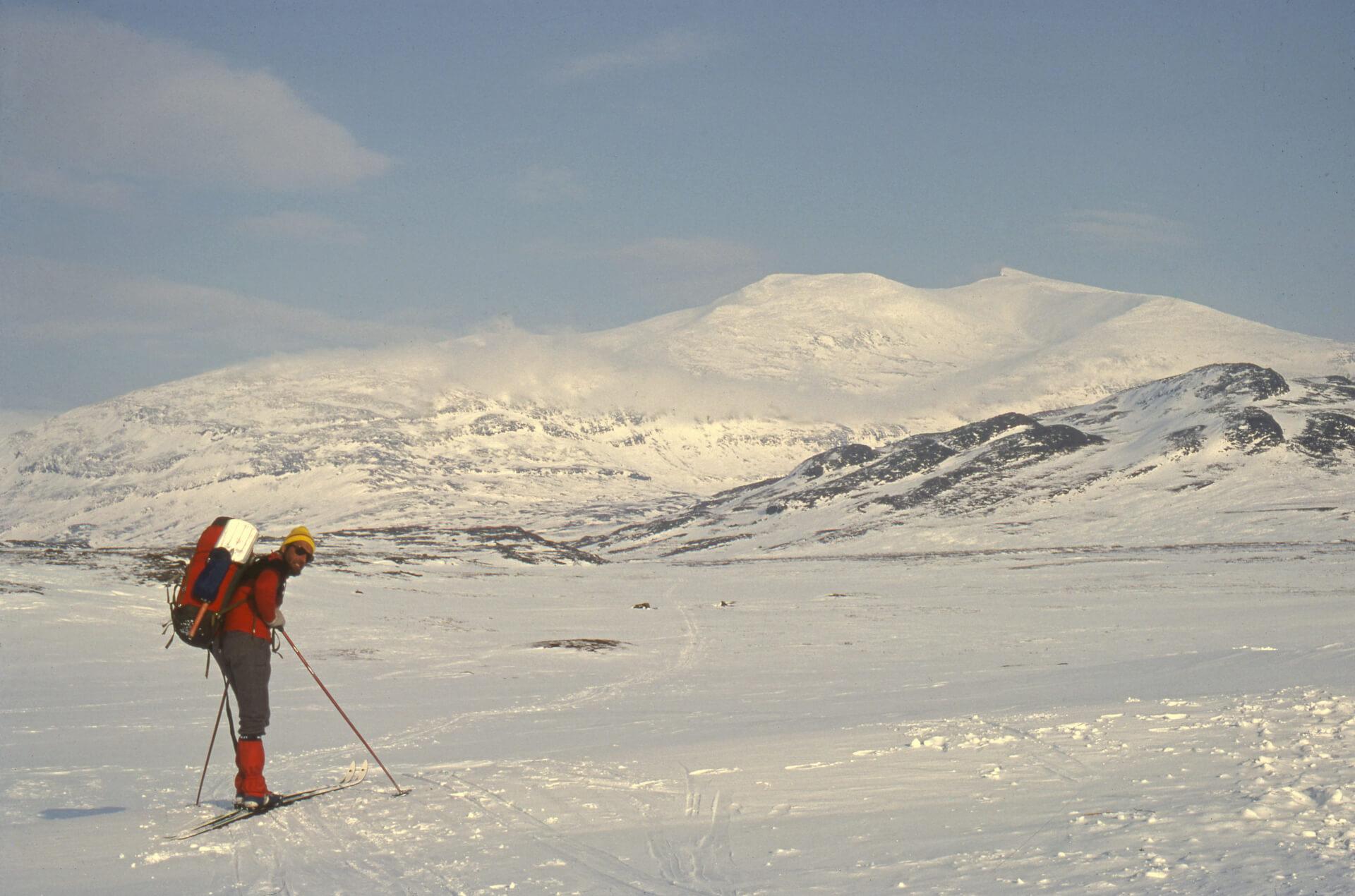 Sur les plateaux au nord du lac d'Akka. 30 mars 1979.