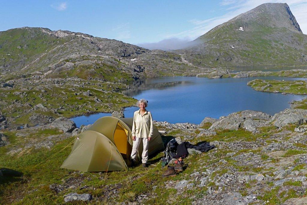 Le camp 8 et le Botnvatnet - 28 juillet 2013.