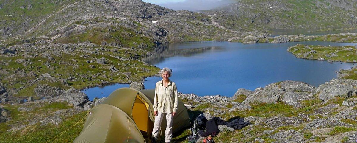 Le camp 8 et le Botnvatnet