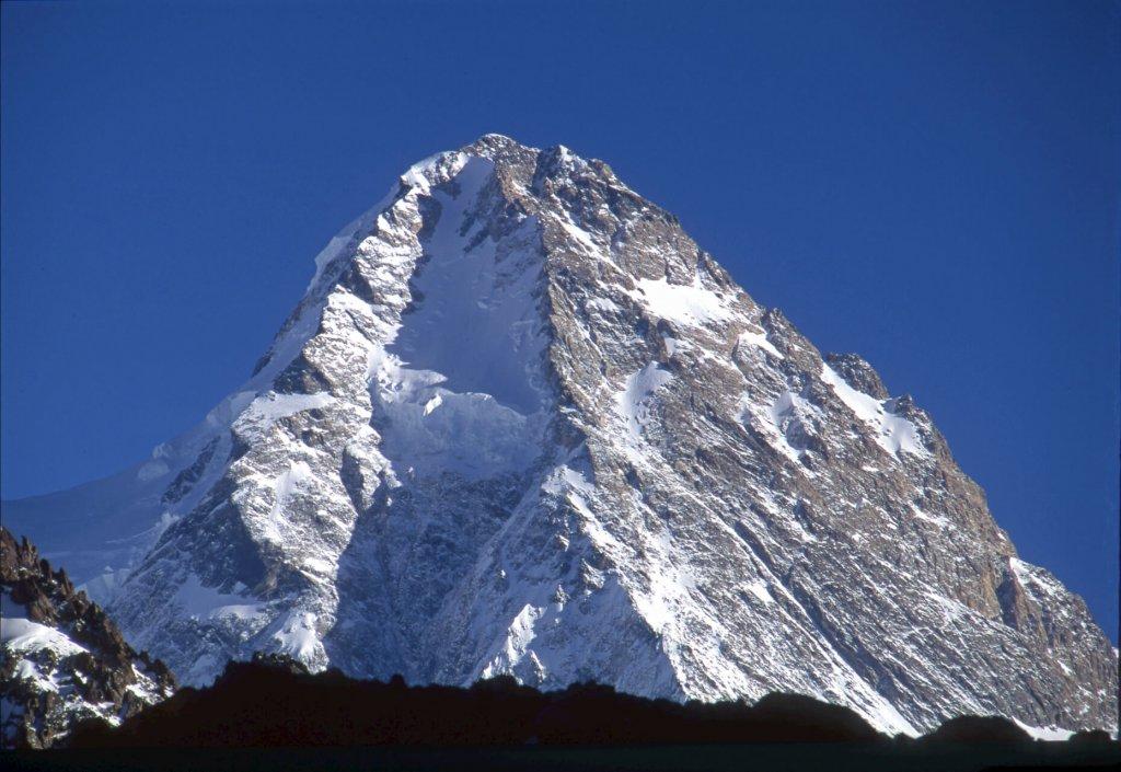 Le sommet du versant nord du K2. 20 septembre 1993.