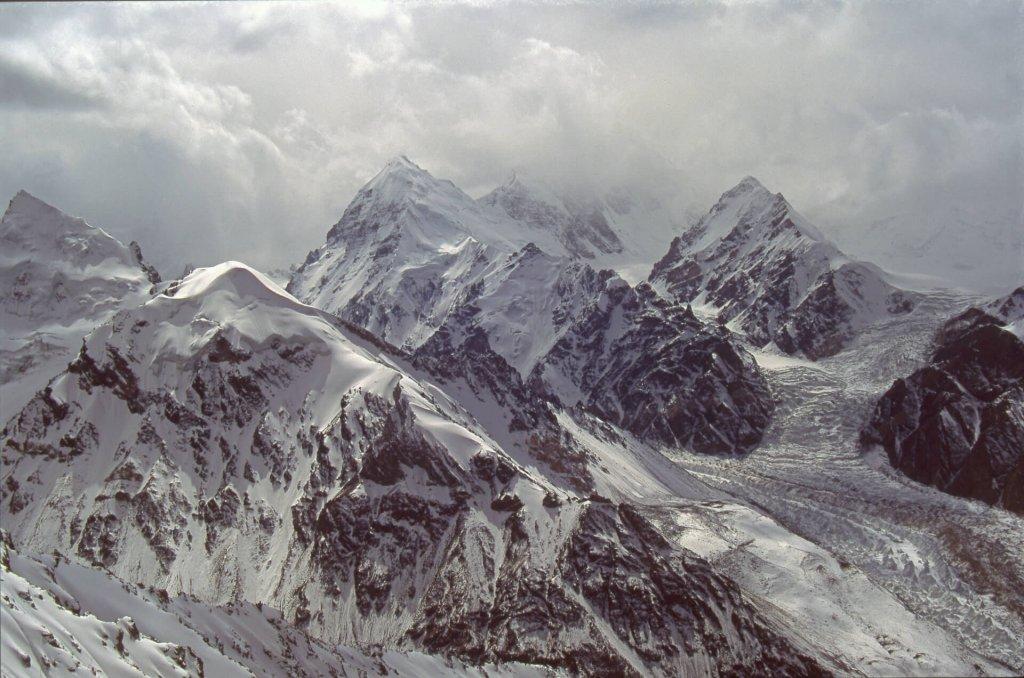 Le Chongtar Kangri (7330m). 28 septembre 1993.