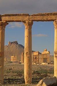 Palmyre, le chateau arabe