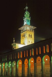 Damas, mosquée des Ommeyades