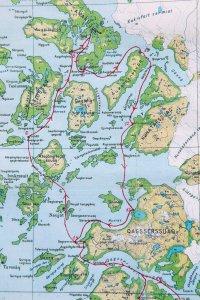 Carte 2 - La partie nord.