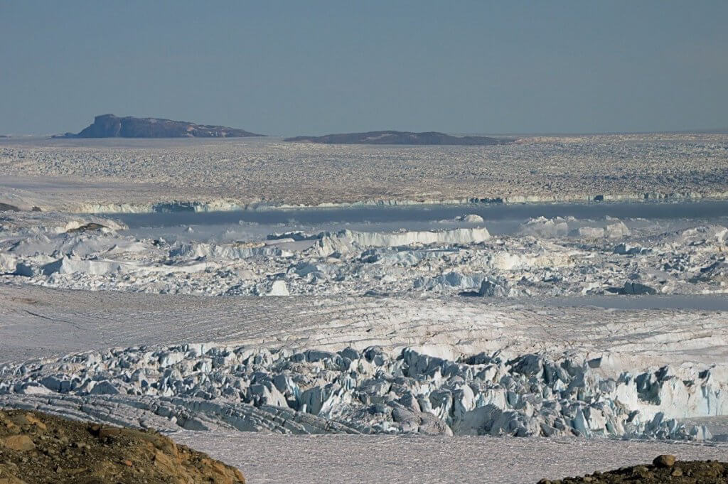 Baie de Melville - Glacier Steenstrup le 7 août 2014.