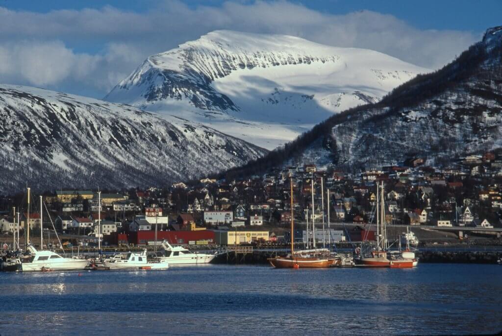 Tromso le 22 avril 1989.
