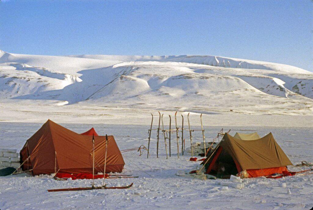 Dernier camp dans Adventdalen. 4 mai 1980.