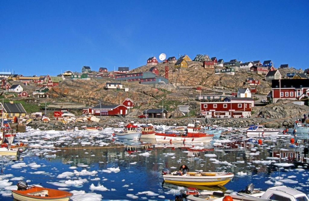 Le port d'Uummannaq