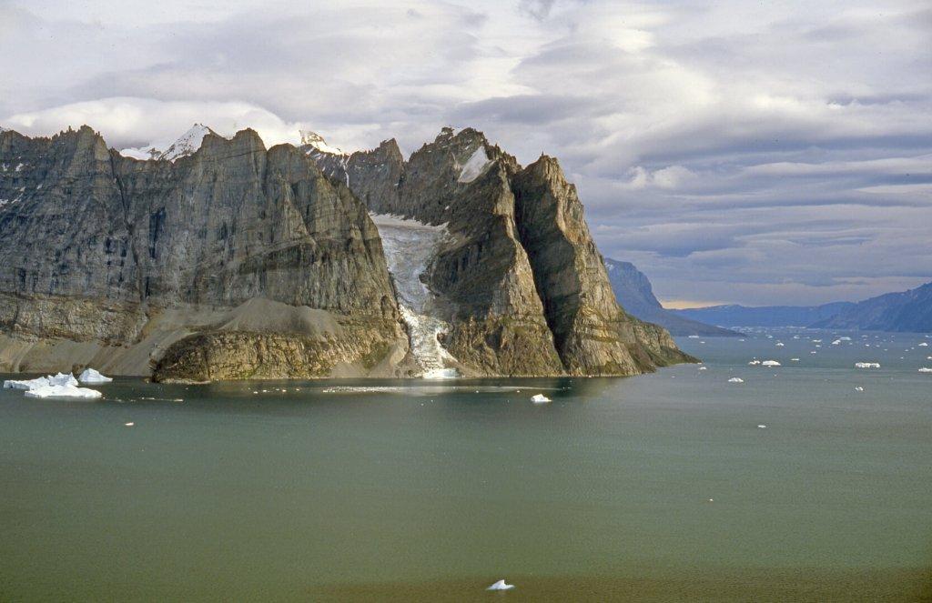 La péninsule Alfred Wegener vue du nord