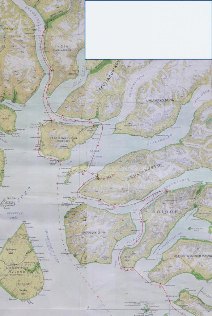 UMANAK 1999 - Carte 2