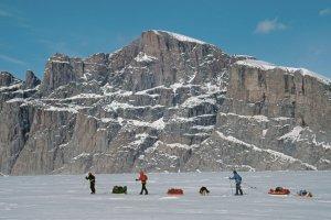 Terre de Baffin, Gibbs Fjord. 6 mai 2003.