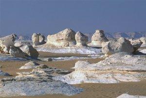 Le Désert Blanc, Egypte, octobre 2005