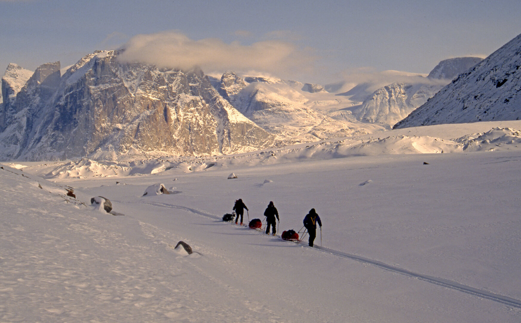 Terre de Baffin, Walker Arm. 1ér mai 2006.