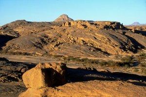 Au nord de l'Assekrem