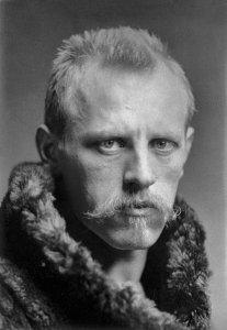 Nansen en1897 au retour de la Dérive du Fram.