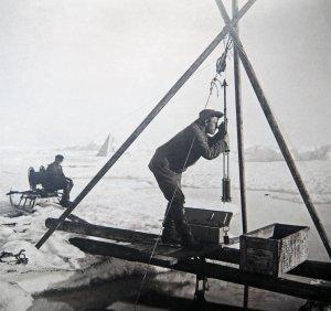 12 juillet 1894. Lecture du thermomètre plongeur.