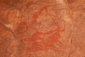 Peinture rupestre du Tassili des Ajjer