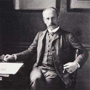 Nansen en 1906 à l'âge de 45 ans alors qu'il est ambassadeur de Norvège à Londres.