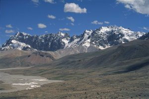 Le Shimshal Pass (4820m). 21 Juillet 1995.