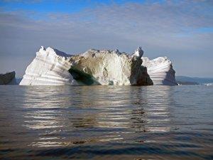 Iceberg dans le fjord d'Inglefield - 15 août 2017 - Photo JM Daveau