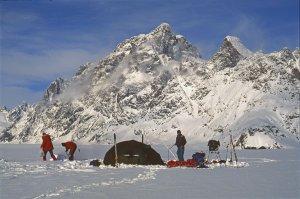 Départ du camp C13 - 30 Avril 1997.