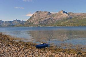 Départ du camp 23 dans l'Austnesfjord - 19 août 2016.