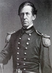 Le commodore Charles Wilkes (798-1877).