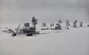 Installation du dépôt à 80° - Février 1911.