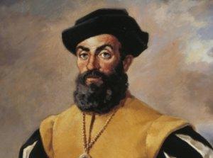 Portrait de Fernando de Magallanès (Magellan) -(1480?-1521).