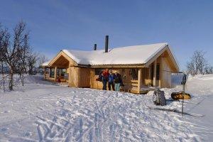 Le nouveau refuge de Veslefjellhytta - 13 Février 2020.