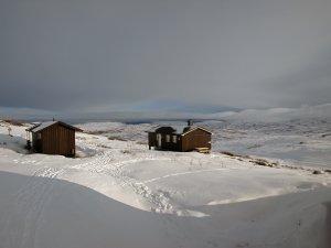 Le refuge de Storkvelvbu - 3 Mars 2019.