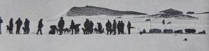 Le départ de l'escouade vers le sud. 2 novembre 1902.