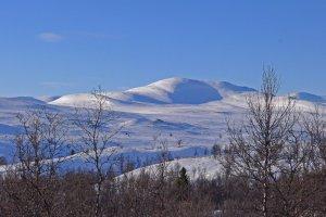 Vue depuis le refuge de Eldåbu - 27Mars 2019